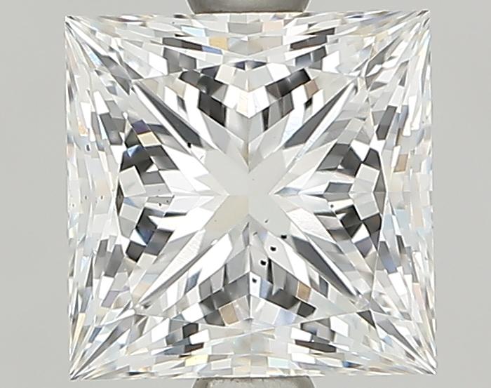 1.57 Carat G-VS2 Ideal Princess Diamond