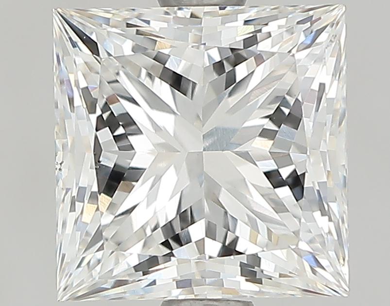 1.72 Carat G-VS1 Ideal Princess Diamond